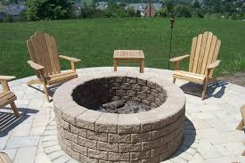 Unilock Fire Pit by Outdoor Firepits Fireplaces And Grill Stations By Brandon