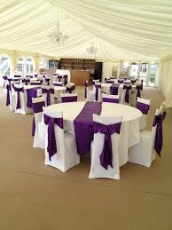 purple chair sashes black chair covers with hot pink satin sashes traditional bow