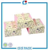 buy folding card packing box flat pack christmas gift box in china