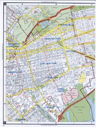 Queens Map Ozone Park Road Map