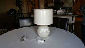 Pottery Barn Rug Reviews by Jolie Mother Of Pearl Round Lamp Base Review Pottery Barn Youtube