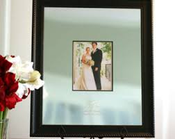 wedding signing frame guest book engravable signature frame personalized unique