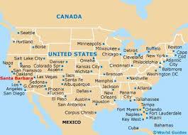 santa barbara california map santa barbara maps maps of santa barbara california ca usa