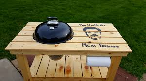 how to build a weber grill table table barbecue weber interesting photo wsm with work table with