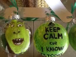 shrek shrek the musical ornaments costume balls