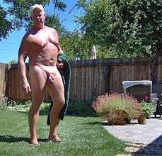 Backyard Nudists Backyard Nudist High Quality Pic Mature