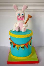 54 best rabbids cakes images on pinterest rave birthday ideas