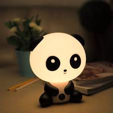 a panda nightlight that is basically the cutest thing