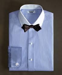 10 supima cotton non iron slim fit golf collar french cuff