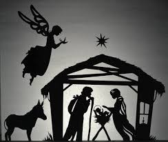 christmas manger christmas nativity shadow puppet printables adventure in a box
