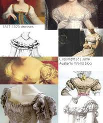 necklines in regency gowns jane austen u0027s world