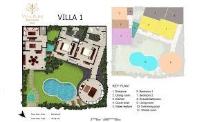 interactive floor plans seminyak villa kubu