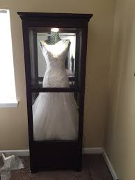 wedding dress cleaning and boxing shadow box for wedding dress get a china cabinet and dress form