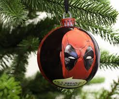deadpool christmas tree ornaments dudeiwantthat com