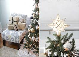 black and white tree decor fix