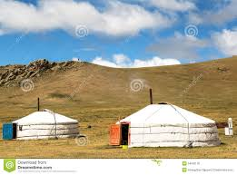 traditional house in mongolia stock photo image 54036116