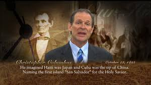 faith in history christopher columbus october 12 1492 youtube