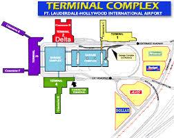 miami airport terminal map terminal map fll fort lauderdale airport