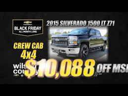 black friday car deals black friday chevrolet and gmc truck deals at wilson county