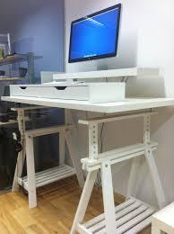 Ikea Dave Laptop Table Ikea Fredrik Standing Desk Ivar Standup Music Cueing Desk