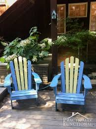 Adirondack Outdoor Furniture Diy Painted Adirondack Chairs