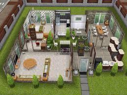 The Sims Freeplay Scandinavian House Youtube Scandinavian House