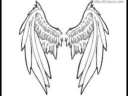 29 best wings drawings evil images on archangel