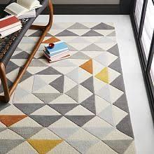 multi pixel woven wool rug 8 u0027x10 u0027 multi woven rug living