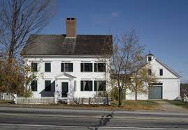 new houses being built with classic new england style marrett house historic new england