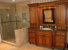Recessed Bathroom Vanity by Bathroom Ideas Home Depot Bathroom Remodel With Corner Glass Door