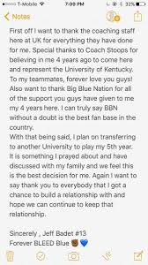 breaking top wide receiver jeff badet is transferring kentucky