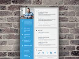 resume design templates 2015 material cv resume by shekh al raihan dribbble