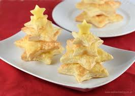 easy cheese puff pastry christmas trees eats amazing