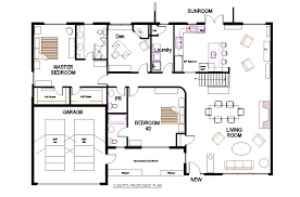 Open Space House Plans Concept Office Floor Plans