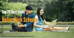 easiest online high school top 25 best value online high schools for 2017 value colleges