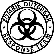 zombie jeep decals zombie outbreak response team biohazard vinyl sticker decal choose