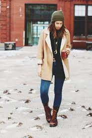 sweater orchid grey blogger combat boots shearling jacket