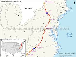und cus map us interstate 81 i 81 map dandridge tennessee to fisher s