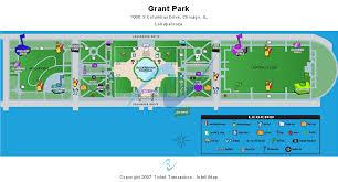 grant park chicago map cheap hutchinson field grant park tickets
