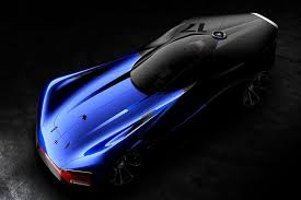 peugeot concept car dished out a delicious hybrid sports car concept