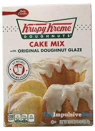 review betty crocker krispy kreme cake mix the impulsive buy
