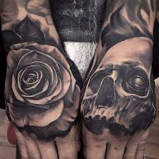 hand tattoo on pinterest clever tattoos skull tattoo design and