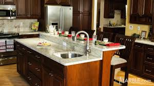 kitchen cabinets with granite top india top 5 kitchen countertop choices for cabinets marble