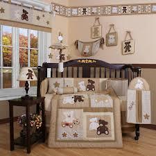 Portable Mini Crib Bedding by Mini Crib Bedding Sets Baby Safari Monkey 4 Piece Crib Bedding