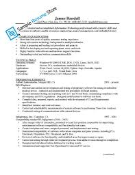 Professional And Technical Skills For Resume Sample Quality Engineer Resume Resume For Your Job Application