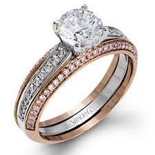 womens wedding rings simon g diamond pave set 18k gold womens wedding bands mr2713