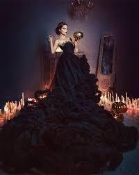 gorgeous strapless black gothic wedding dresses red beaded sash