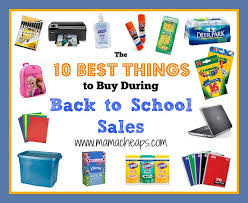 the 10 best things to buy during back to school sales school