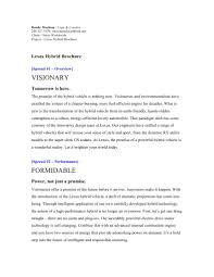 lexus brand story download lexus brand brochure docshare tips