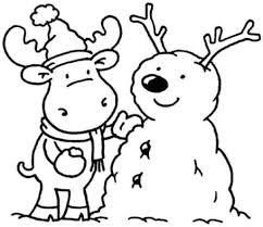 winter coloring pages for kindergarten coloringstar inside